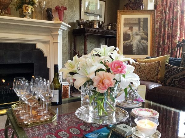 Sitting Room wine serving