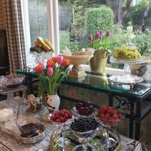 Beaufort Breakfast at Beaufort House Accommodation AKaroa