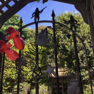 Beaufort House Akaroa 2020 House & Garden Tour gate