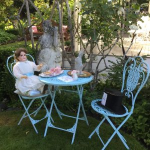 Akaroa 2020 House & Garden Table in the garden