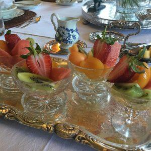 Beaufort House Breakfast - Fresh Fruits