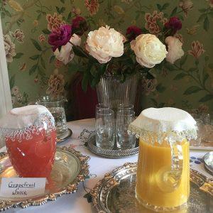 Beaufort House Breakfast - Grapefruit juice