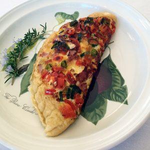 beaufort house akaroa cooked breakfast omelette